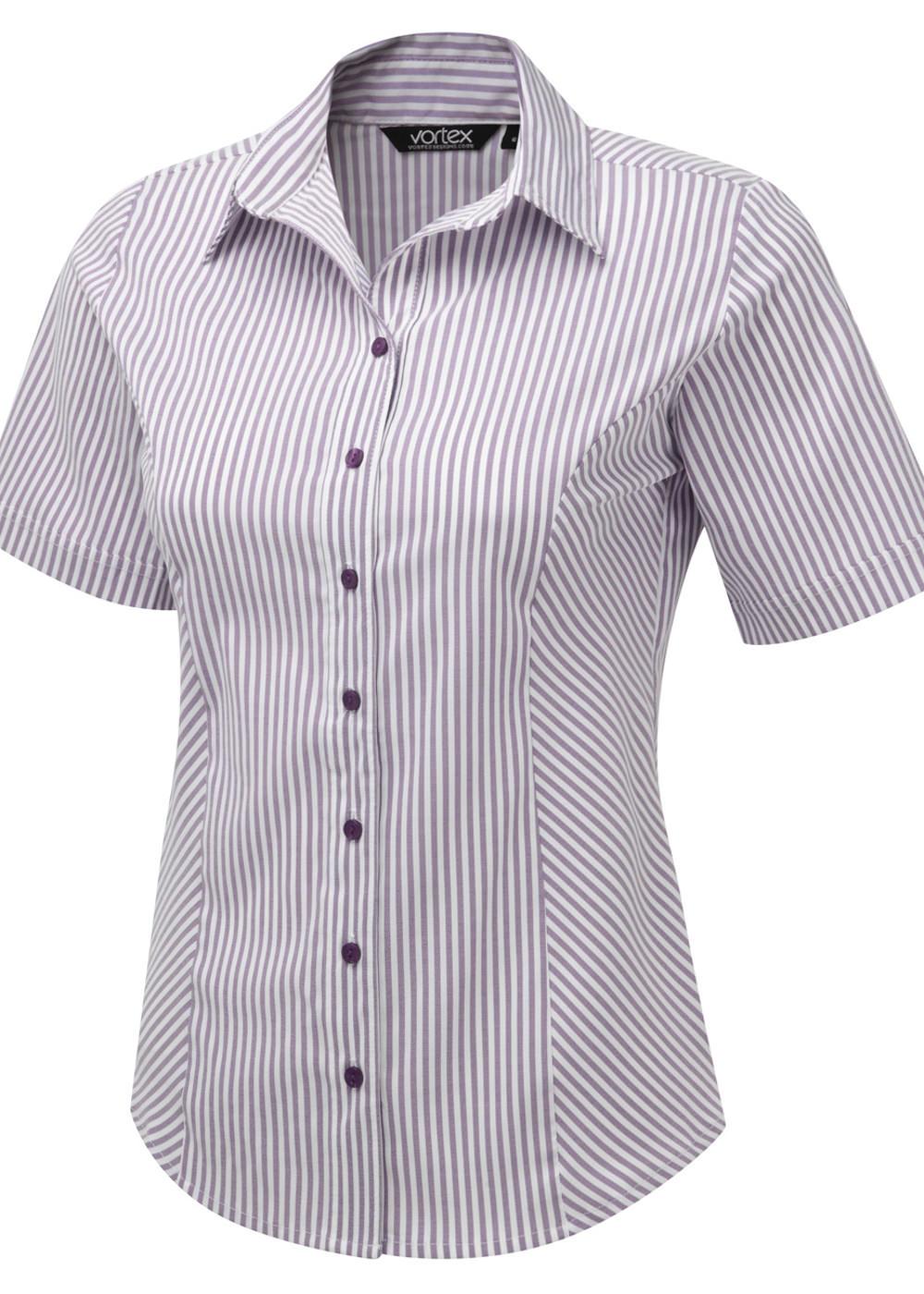 ANNIKA SS - Cotton Touch stretch blouse